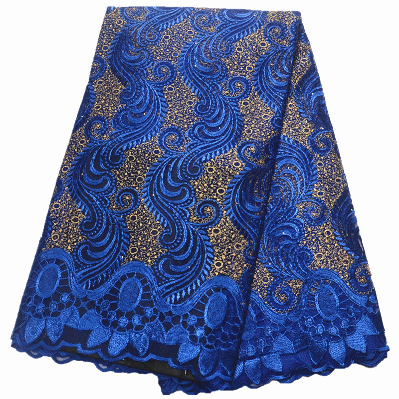 HFX african lace fabric 2019 Lace Fabric For Women