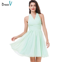 Dressv Cheap Green Knee Length Cocktail Dress Sexy Off The Shoulder Short Evening Party Dress Ruched