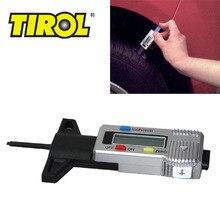 Cheapest prices TIROL T20301a New Digital LCD Tire Tread Depth Gauge 0-25.4mm Brake Shoe Pad Gauge Caliper Brand Free Shipping