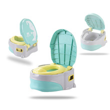Baby Toilet Cute Travel Potty Portable Baby Pot Child Potty Chair Training Girls Boy Children's Potty WC Kids Child Toilet Seat(China)