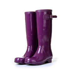 Free shipping Lostlands stunning candy color women's fashion rain boots high women's rainboots rain shoes riding boots s4