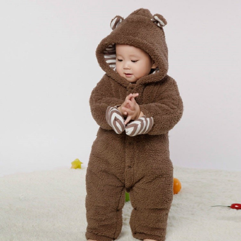 Baby Boy Romper Thickening Autumn And Winter Clothes Baby Keep Warm Jumpsuit Clothing Baby Girls Clothing Padded autumn baby rompers brand ropa bebe autumn newborn babies infantial 0 12 m baby girls boy clothes jumpsuit romper baby clothing