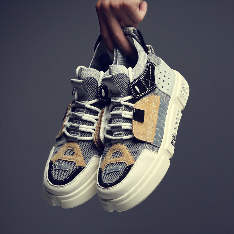 Tenis Plataforma cinza Tênis Vaca Masculin Zapatos Camurça Moda Dos Sapatos Da Nova branco Casuais Primavera Masculina Hombre De Azul Homens Sneakers 2019 xvRTSnCqw