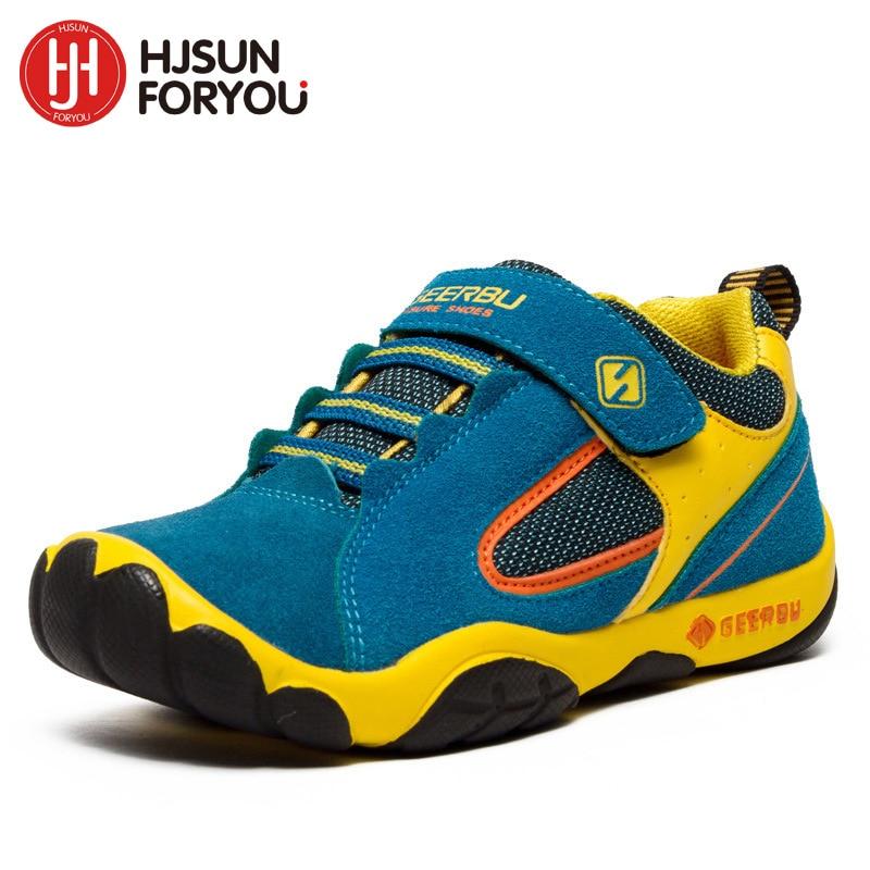 2019 Oryginalne skórzane obuwie dziecięce rozmiar 28-40 wodoodporne - Obuwie dziecięce - Zdjęcie 2