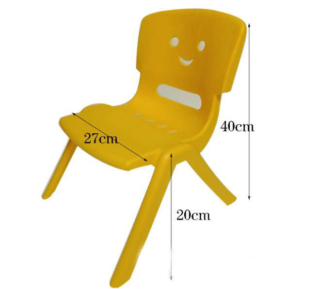 Wholesale 20cm Seat Height Kid's Safety Back-rest Chair Kindergarten Chair Thicken Small Stool