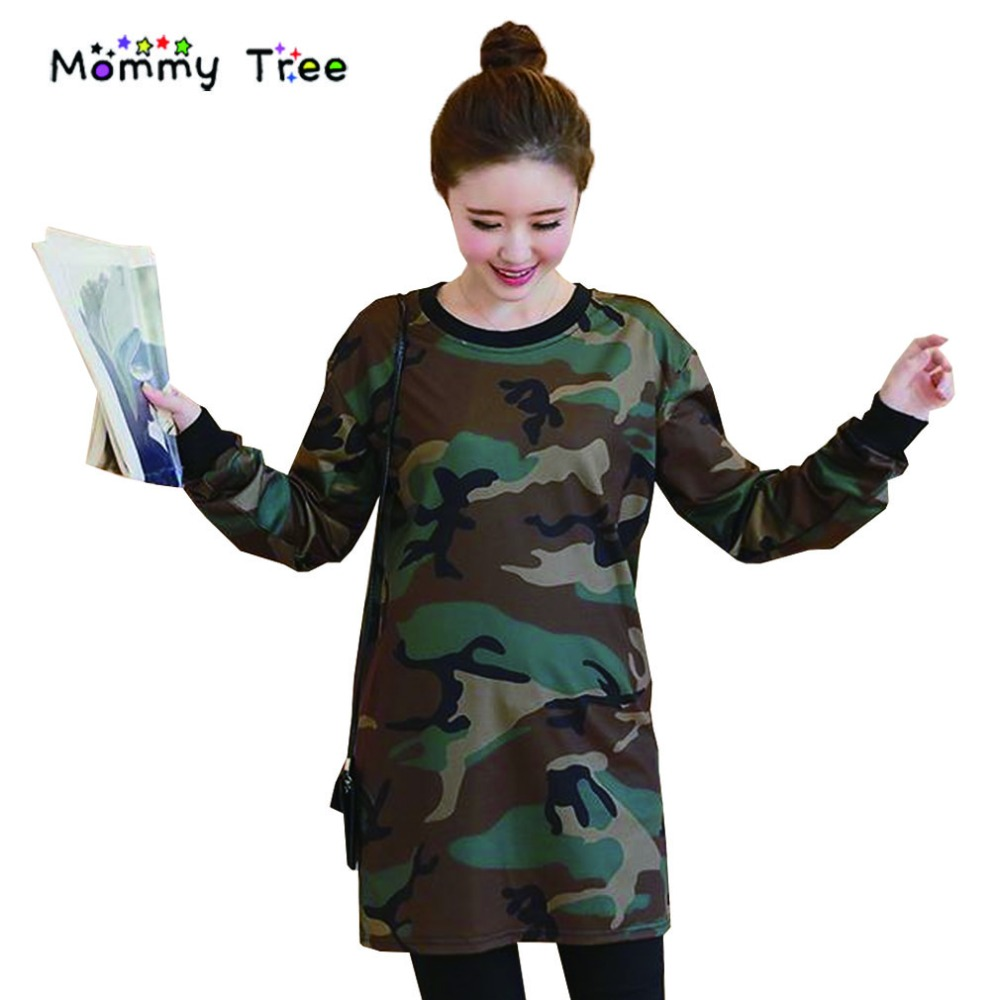Compare prices on camouflage maternity clothes online shopping new fall camouflage maternity dresses autumn clothes for pregnant women long sleeved maternity dress ombrellifo Gallery