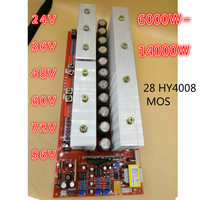 24V 5600W 36V 8600W 48V 12000W 60V 72V 96V 15000W Foot Power Pure Sine Wave Power Frequency Inverter Circuit Board A Main Board