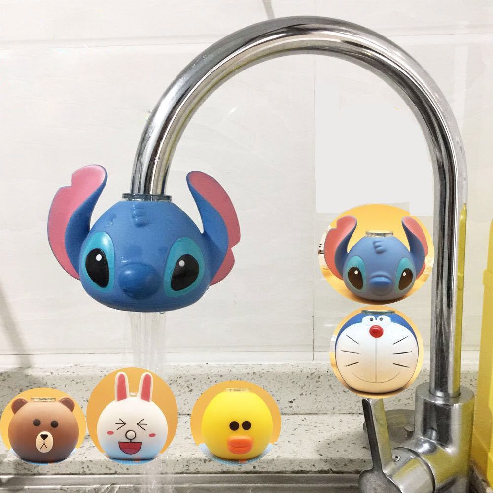 Cartoon Faucet Extender Filter Treated Water Purifier Kid Children Cartoon Faucet Decoration For Bathroom Kitchen Dropshipping