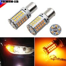 عالية الطاقة 21 واط العنبر BAU15S 7507 PY21W Canbus LED استبدال المصابيح لسيارات BMW F22 F30 F32 2 3 4 سلسلة الجبهة بدوره أضواء الإشارة
