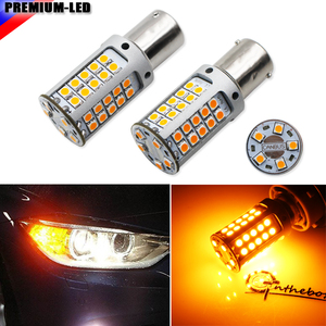 High Power 21W Amber BAU15S 7507 PY21W Canbus LED Replacement Bulbs For BMW F22 F30 F32 2 3 4 Series Front Turn Signal Lights