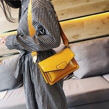 купить Casual PU Leather Flap Bags Women Mini Hasp Messenger Bag Purse Single Shoulder Crossbody Bags Ladies Samll Phone Bag Chic Sac по цене 1047.96 рублей