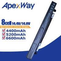 Apexway 8 célula de Bateria para Asus A41-X550 A41-X550A A450 F550CA K550LB R510CA A450C F550CC K550LC R510CC A450CA F550E K550V R510D