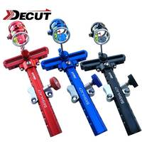 DECUT 1 Set 4x/6x/8x 5 Colors Bow Sight Stand For Compound Bow Aluminum Alloy Material Bow Accessory Arrow Set Shooting