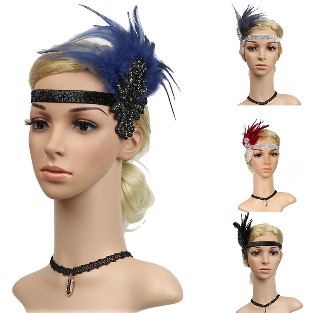 Feitong Headpiece Flapper Headband Headdress Floral Flower Garland Girls Headband Accesorios Para El Cabello #3 Back To Search Resultsapparel Accessories