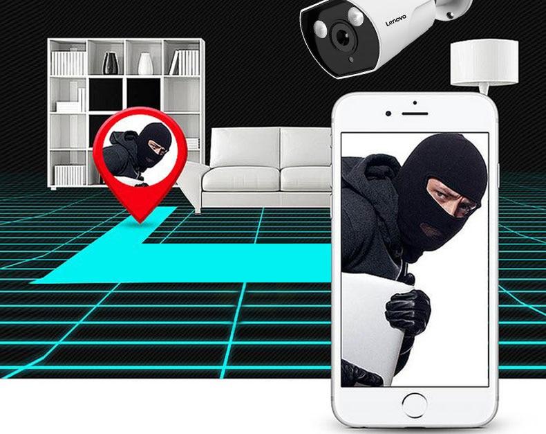 HTB1 h6eMH2pK1RjSZFsq6yNlXXa7 LENOVO IP Camera Wifi 1080P ONVIF Wireless Wired HD Waterproof WiFi IP Camera Surveillance Outdoor Camera Security Night Vision