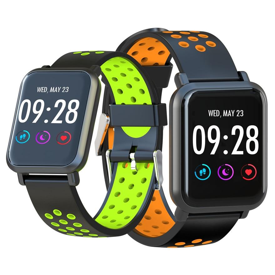 สมาร์ท Ip68 Waterpoof สร้อยข้อมือสมาร์ทความดันโลหิตออกซิเจน Heart Rate Monitor สร้อยข้อมือฟิตเนส Tracker สำหรับ Iphone Android-ใน สายรัดข้อมืออัจฉริยะ จาก อุปกรณ์อิเล็กทรอนิกส์ บน AliExpress - 11.11_สิบเอ็ด สิบเอ็ดวันคนโสด 1