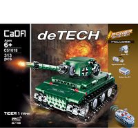 LEPIN Technic Series War Weapon RC Tank Bricks Vehicles Building Blocks Army Educational Toys For Children