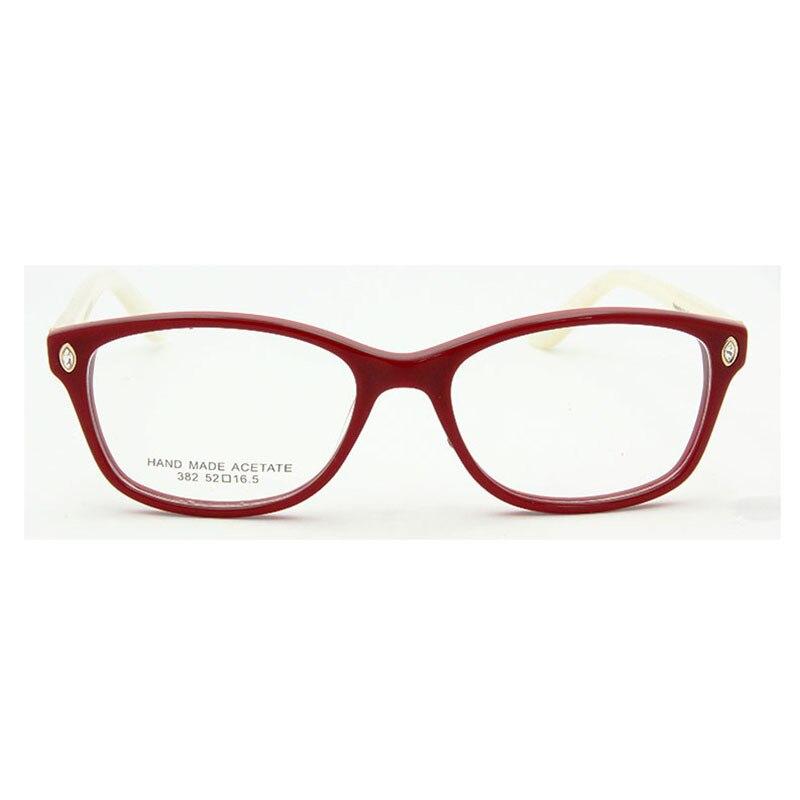 ESNBIE Itália Design Óculos De Armação Mulheres Diamante de Luxo Qualidade  Original Marca de Óculos Óculos de Miopia óculos de Computador Oculos de  grau ... 76efe821ef