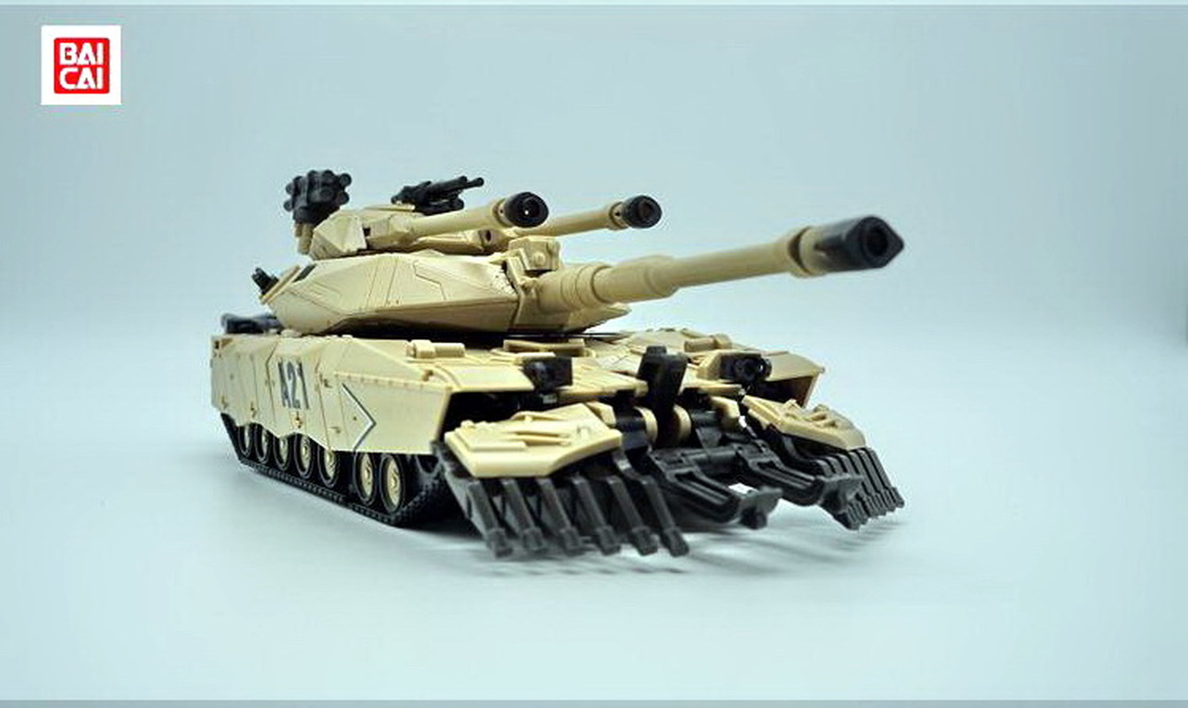 IN Stock BaiCai Transformation G1 L level Leader M1A1-A21 Abrams Tank Desert color KO Action Figure Robot Model Toys Gifts in stock g1 shockwave masterpiece with light transformation mp 29 mp29 ko collection action figure robot model kids toys gifts