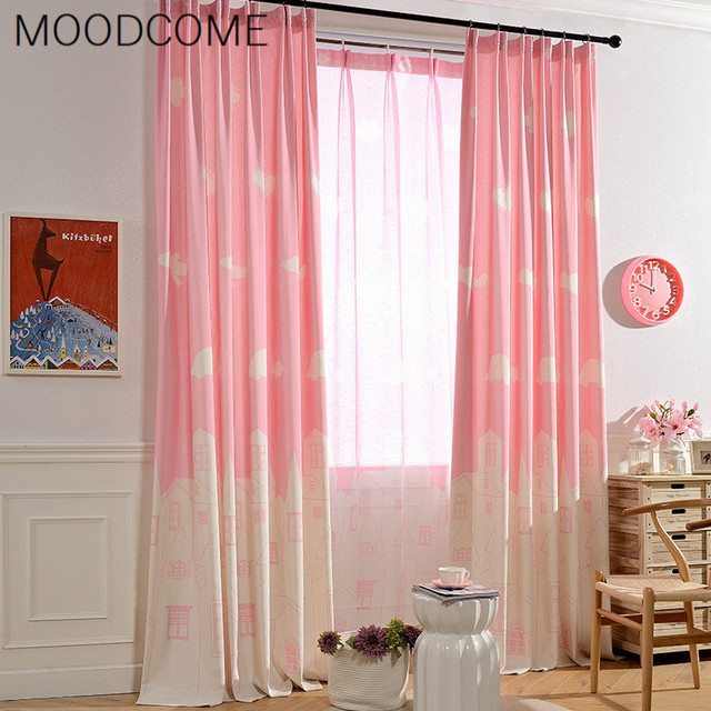 Curtains for Living Dining Room Bedroom Childishness Contemporary ...