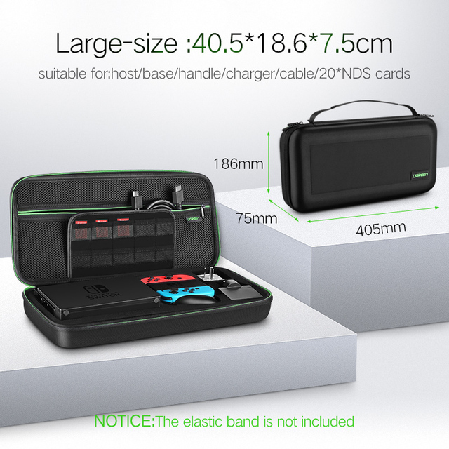 Ugreen Storage Bag for Nintend Switch Nintendos Switch Console Case Durable Nitendo Case for NS Nintendo Switch Accessories 5