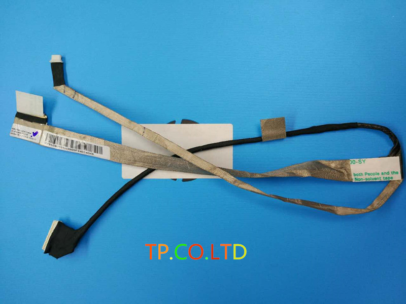 original FOR MSI GP70 MS-175A 2PE Leopard Laptop LCD Video Cable K19-3040081-H39 laptop keyboard for msi ms 16f1 cx660 cx660r ms 16f2 gx680 gx680r ms 1671 gt780r gx780 gx780r black with frame sw swiss
