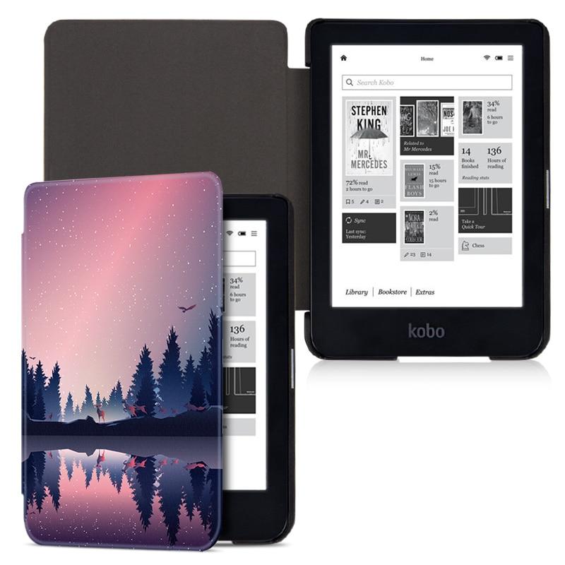 BOZHUORUI Case For Kobo Clara HD E-Reader (Model N249)- Premium Ultra Compact Protective Slim Lightweight With Auto Sleep/Wake