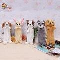 Студент ручка Корейский детская плюшевые игрушки творческий собака пера большие канцелярские сумка Для детских Подарков