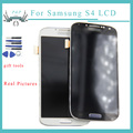 i9500 For samsung galaxy s4 gt-i9500 i9505 i337 lcd display Touch Screen with Digitizer assembly with frame