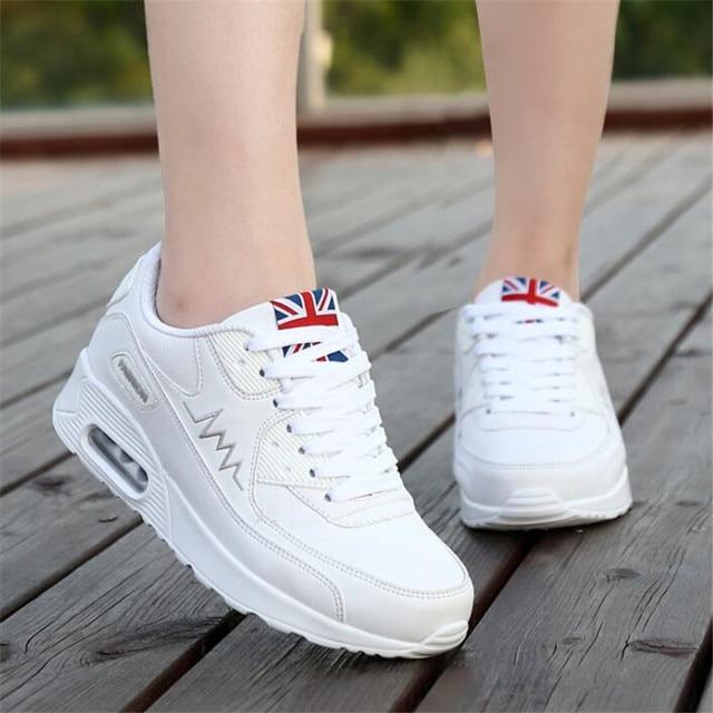 2018 стильный комфорт кроссовки для Женские кроссовки белые кроссовки для  девочек спортивные кроссовки 7903c0a0d4d