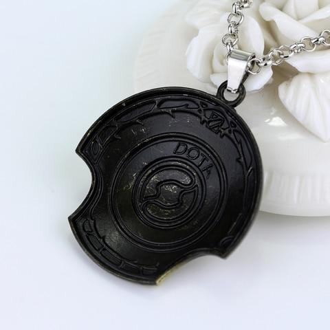 Defense of the Ancients DOTA 2 Aegis of Champion Necklace Immortal Champion Shield Pendant Karachi