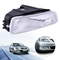 DWCX New 12V Car PP Plastic Front Right Fog Light Lamp Cover 33901 SDA H01 Fit for Honda Accord 2003 2004 2005 2006 2007