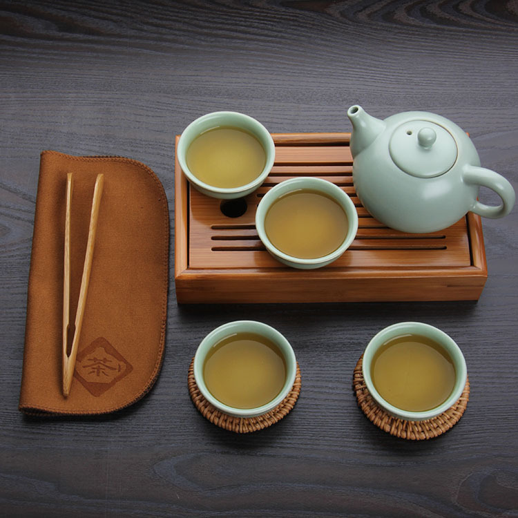 New 2016 bamboo tea tray solid bamboo tea board kung fu tea tools for cup teapot crafts tray 22*12*4cm environment nature bamboo