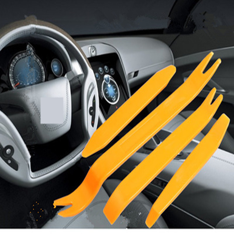 4 Pcs Car Disassembly Tool Audio CD Interior Door Panel Removal Modified Rocker Tool Installation And Maintenance Tools