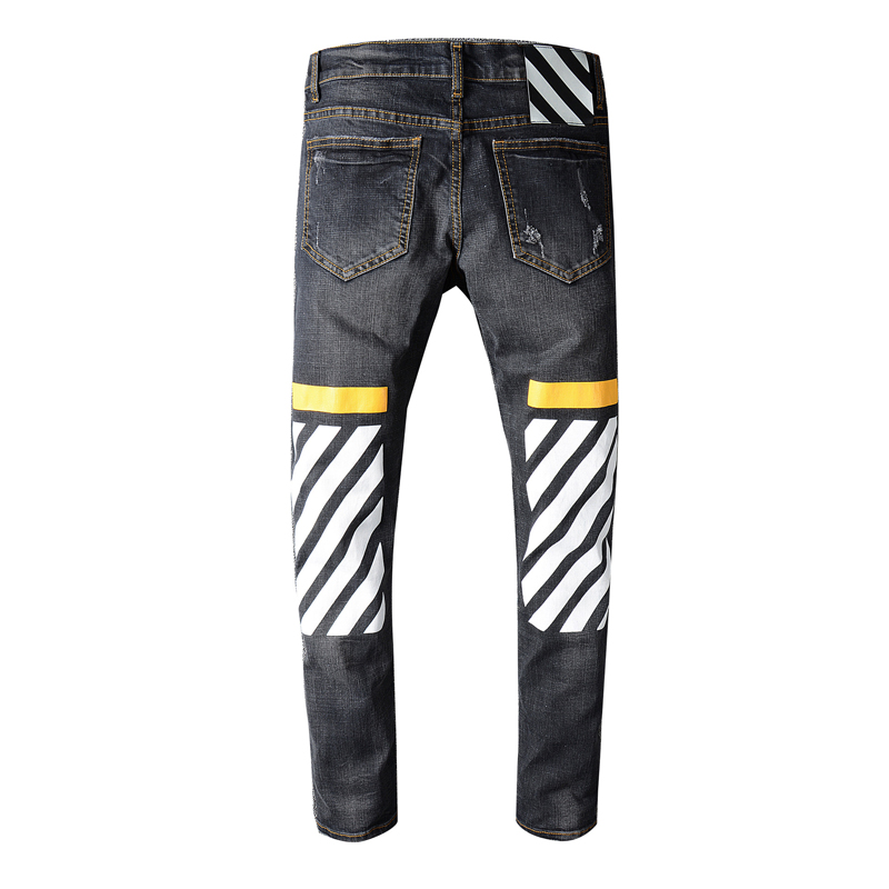 Hi-Q New Arrival hip-hop Jeans Men's Slim Jeans pants Brand Biker jeans skinny rock ripped jeans homme Size 28 To 38 trousers simulation of atm using elliptic curve cryptography in matlab