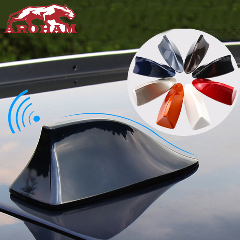 Freeshipping High Quality Car Shark Fin Antenna Auto Radio