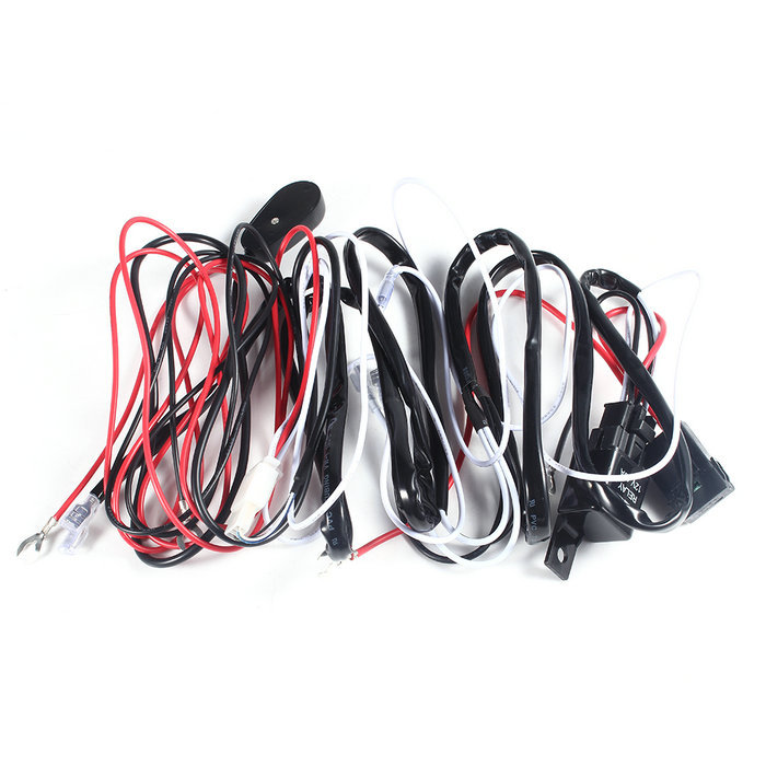 ... Universal Car Fog Light Wiring Loom Harness Kit Bar with Fuse and Relay Switch Hot Sale ...  sc 1 st  AliExpress.com : universal wiring loom - yogabreezes.com