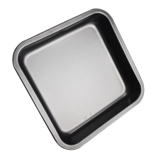 LISM 8 Inch Square non-stick Baking Pan DIY Cake Mould Utensils Carbon Steel Pizza Tray Wholesale