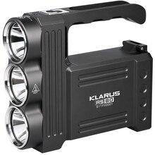 KLARUS RS80 Super bright Spotligh 3* CREE XM-L2(U2) LED max. 3450LM Flashlight Used In The Mummy