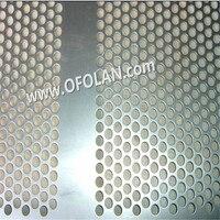Мм дырочная перфорирующая сетка мм круглый 8,0 Титан простыни пробивание фильтр сетки Hotting продаж 500 мм * мм 1000