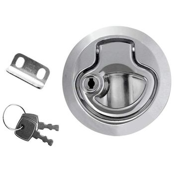 Цинковый сплав напольный подъемник на входе Ручка Для Лодочной палубы люк подъемник дверной замок (шт/набор выбор)-1 шт.