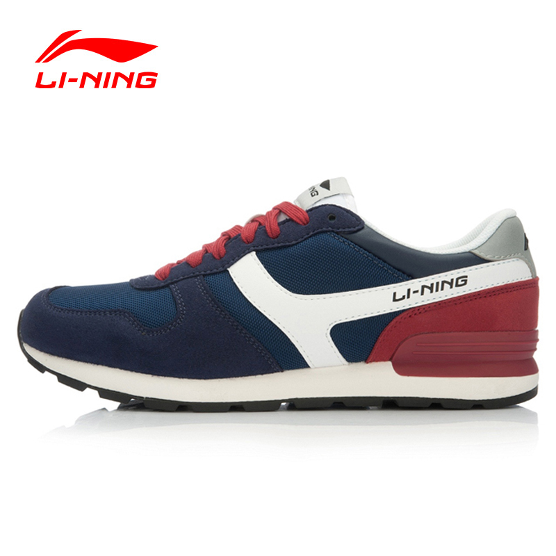Li-Ning O riginal Men's Running Shoes Lifestyle Cushioning Classic Breathable Running Shoes Sneakers Sports Shoes ALCJ015 199 original li ning men professional basketball shoes