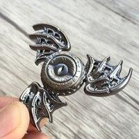 New Game Of Thrones Fidget Spinner Toys Dragon Eyes Hand Spinner Metal Finger Stress Tri Spiner