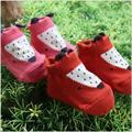 0-24 м детские носки лиса собака животных стили хлопка малыша носки против скольжения детей носки мальчик девочка Summer одежда новый
