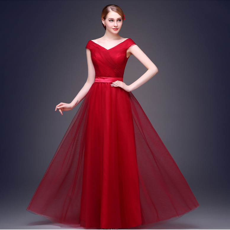 Long Evening Dress 2015 Formal Dresses Prom Party Elegant Vestido De Festa Longo - Niu-niu Store store