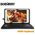 8 дюймов таблетки клавиатура IPS окта core оперативная память 4 ГБ ROM 64 ГБ 5.0mp 4 Г LTE android 6.0 Tablet PC карта телефонный звонок MT8752 dual sim GPS