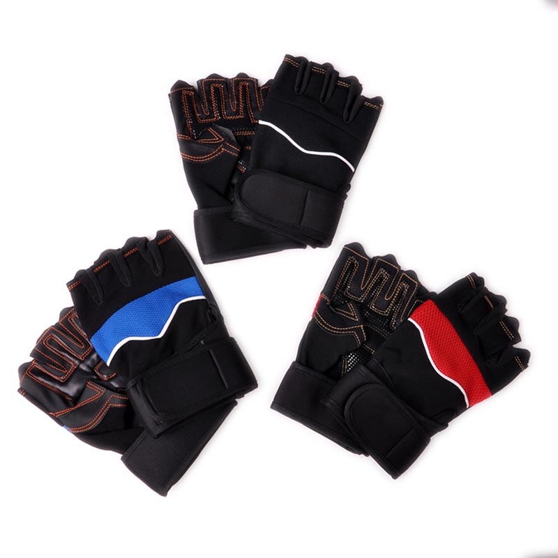 Breathable Anti Slip font b Weight b font font b Lifting b font Gloves Fitness Gloves
