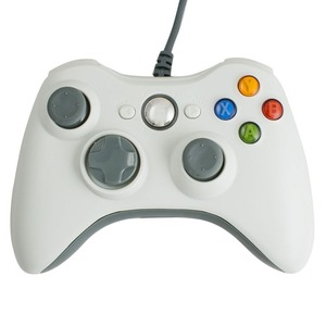 Image 2 - USB Wired Gamepad For Microsoft Xbox 360 Console Wired Controller Joypad Joystick Black White Red Blue For PC Game Joystick