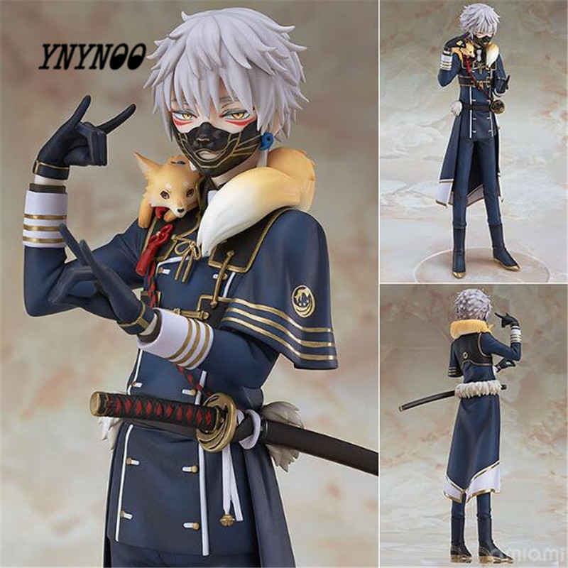 YNYNOO NEW ANDP GSC OR ONLINE Ming Sword Flurry Fox Anime Action Figure 20CM PVC Model Toy Doll P578