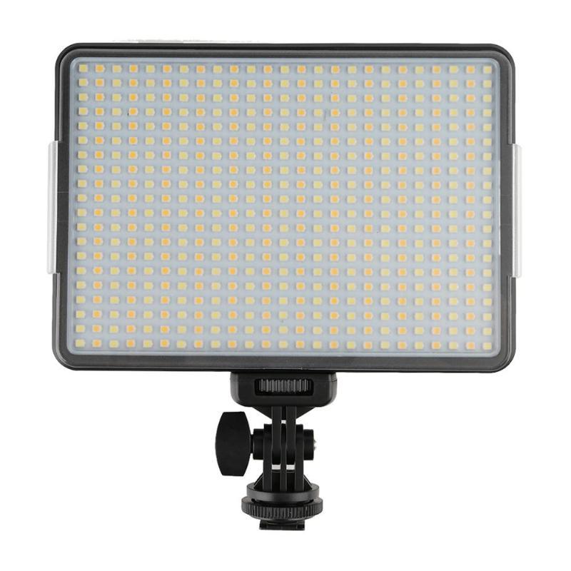 ALLOYSEED 120 Degrés 500 LED Video Studio Light Lamp Avec le 1/4